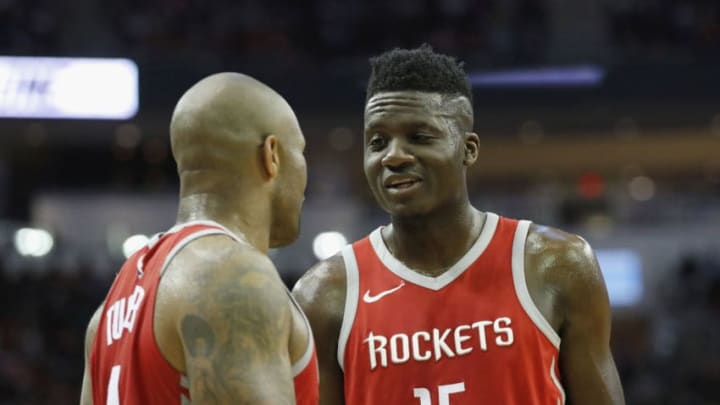 Clint Capela #15 of the Houston Rockets (Photo by Tim Warner/Getty Images)