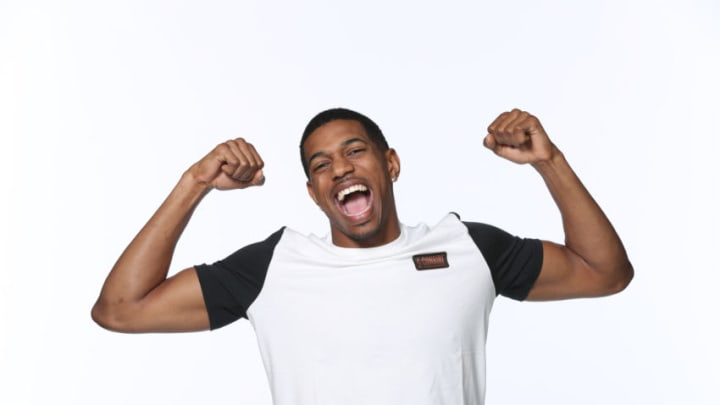 CHICAGO, IL - MAY 15: NBA Draft Prospect, De'Anthony Melton poses for a portrait during the 2018 NBA Combine circuit on May 15, 2018 at the Intercontinental Hotel Magnificent Mile in Chicago, Illinois. NOTE TO USER: User expressly acknowledges and agrees that, by downloading and/or using this photograph, user is consenting to the terms and conditions of the Getty Images License Agreement. Mandatory Copyright Notice: Copyright 2018 NBAE (Photo by Joe Murphy/NBAE via Getty Images)