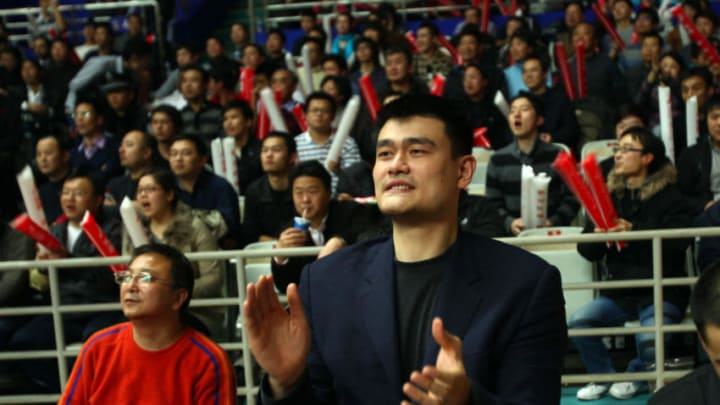 Houston Rockets Yao Ming, (Photo credit should read AFP/AFP/Getty Images)