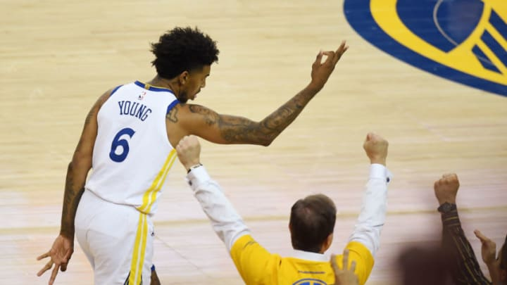 Nick Young #6 of the Golden State Warriors (Photo by Thearon W. Henderson/Getty Images)