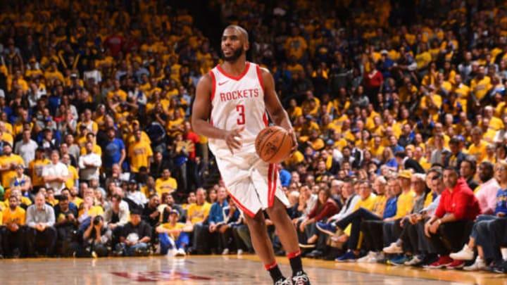 Chris Paul #3 of the Houston Rockets