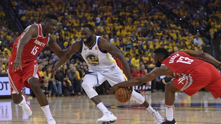 Houston Rockets' James Harden (Jose Carlos Fajardo/Bay Area News Group via Getty Images)