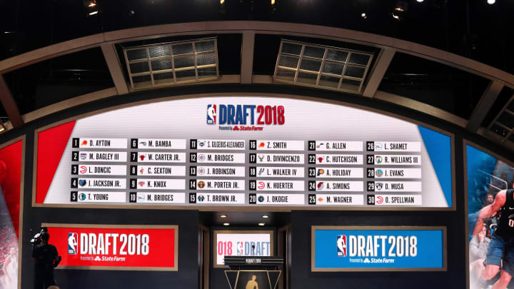 2018 NBA Draft at the Barclays Center (Photo by Mike Stobe/Getty Images)