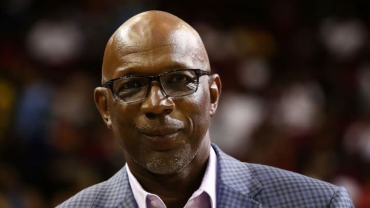 Clyde Drexler (Photo by Ronald Martinez/BIG3/Getty Images)