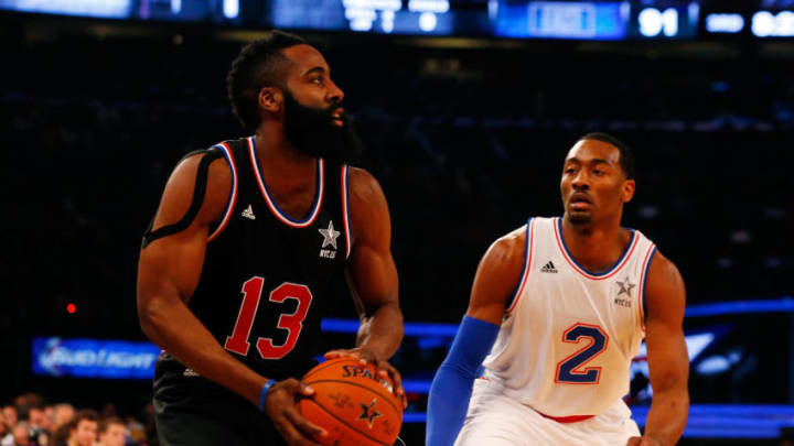 NEW YORK, NY - FEBRUARY 15: (NEW YORK DAILIES OUT) James Harden
