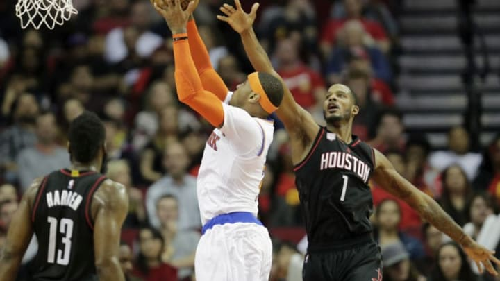 HOUSTON, TX - DECEMBER 31: Carmelo Anthony