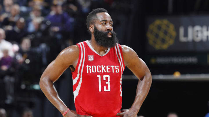 INDIANAPOLIS, IN - JANUARY 29: James Harden