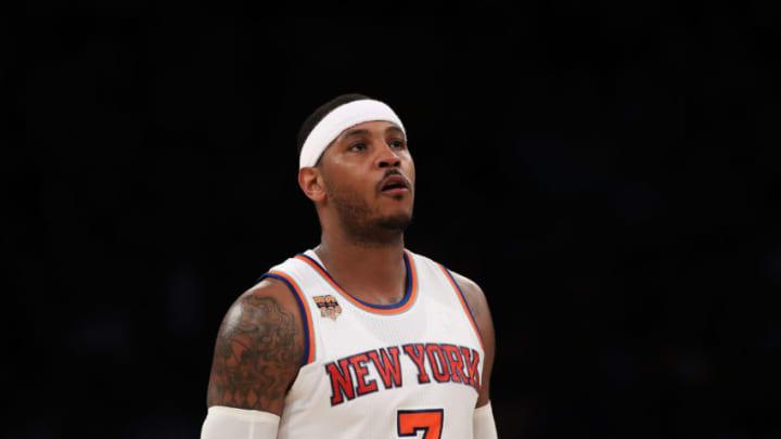 NEW YORK, NY - NOVEMBER 28: Carmelo Anthony