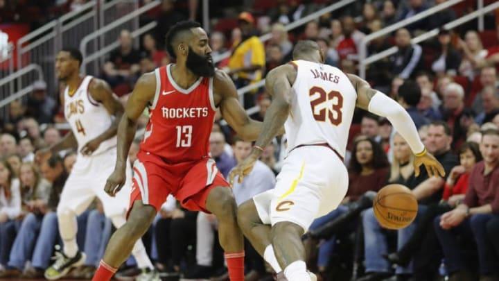 HOUSTON, TX - NOVEMBER 09: LeBron James