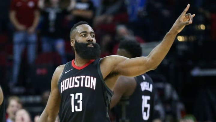 Houston Rockets James Harden (Photo by Bob Levey/Getty Images)