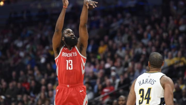 Houston Rockets James Harden (Photo by Justin Tafoya/Getty Images)