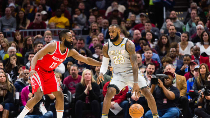 CLEVELAND, OH - FEBRUARY 3: James Harden (Photo by Jason Miller/Getty Images)