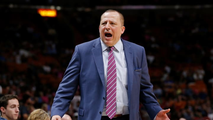Tom Thibodeau (Photo by Michael Reaves/Getty Images)