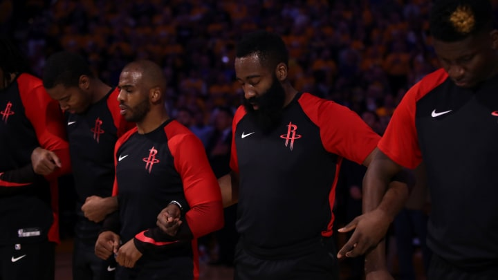 James Harden, Chris Paul (Photo by Ezra Shaw/Getty Images)