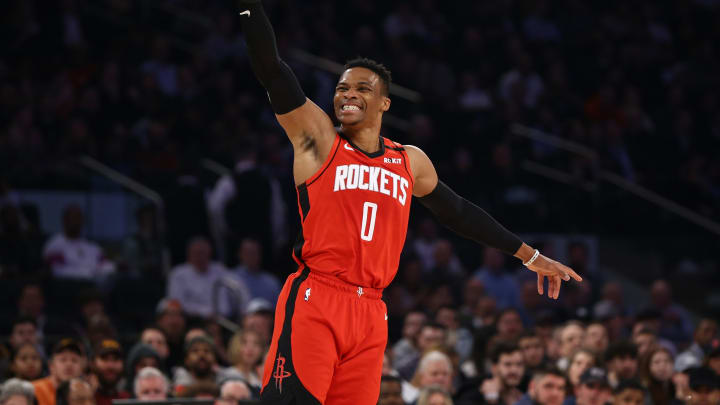 Russell Westbrook (Photo by Mike Stobe/Getty Images)