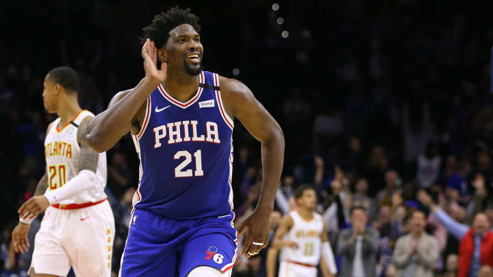 Joel Embiid (Photo by Rich Schultz/Getty Images)
