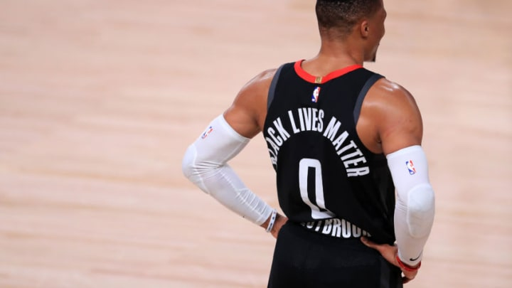 Russell Westbrook (Photo by Michael Reaves/Getty Images)