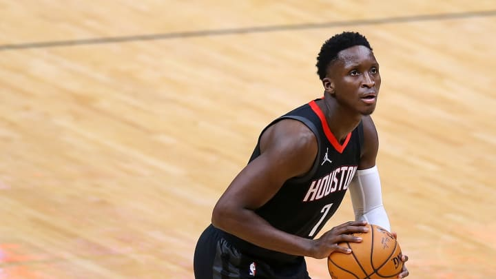 Victor Oladipo #7 of the Houston Rockets (Photo by Jonathan Bachman/Getty Images)