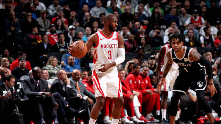 Chris Paul #3 of the Houston Rockets (Photo by Nathaniel S. Butler/NBAE via Getty Images)