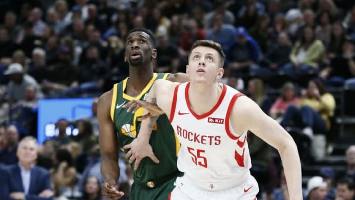 Houston Rockets Isaiah Hartenstein (Photo by Chris Elise/NBAE via Getty Images)