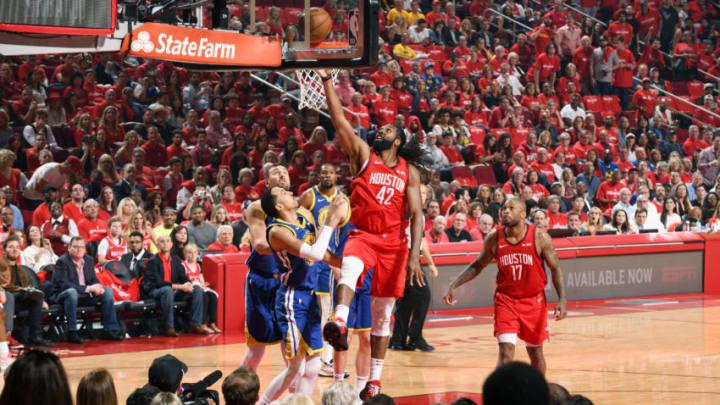 Houston Rockets Nene (Photo by Andrew D. Bernstein/NBAE via Getty Images)