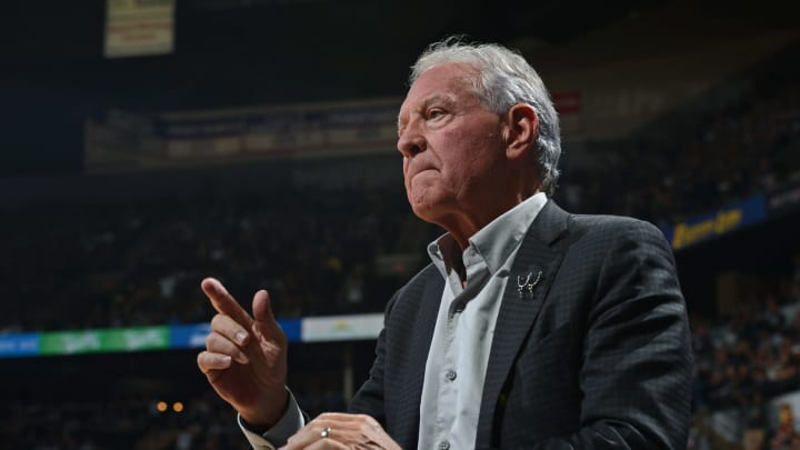 SAN ANTONIO, TX – APRIL 26: Owner of the San Antonio Spurs, Peter Holt, attends Game Four of the Western Conference Quarterfinals Los Angeles Clippers during the 2015 NBA Playoffs on April 26, 2015 at the AT&T Center in San Antonio, Texas. NOTE TO USER: User expressly acknowledges and agrees that, by downloading and/or using this Photograph, user is consenting to the terms and conditions of the Getty Images License Agreement. Mandatory Copyright Notice: Copyright 2015 NBAE (Photo by Garrett W. Ellwood/NBAE via Getty Images)
