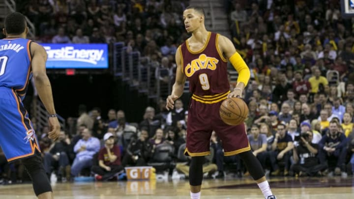 Cleveland Cavaliers Guard Jared Cunningham (9) during the game between the Oklahoma City Thunder and the Cleveland Cavaliers (Photo by Mark Alberti/Icon Sportswire/Corbis/Icon Sportswire via Getty Images)