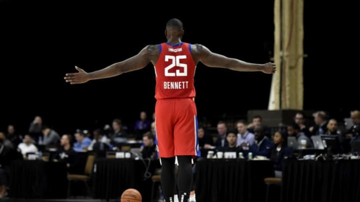 Anthony Bennett #25 of the Houston Rockets (Photo by David Becker/NBAE via Getty Images)