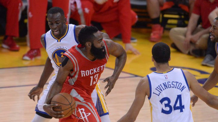 Houston Rockets' James Harden (13) (Photo by MediaNews Group/Bay Area News via Getty Images)