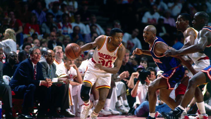 Kenny Smith #30 of the Houston Rockets (Photo by Nathaniel S. Butler/NBAE via Getty Images)