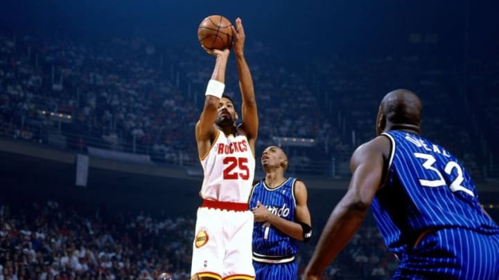 Robert Horry #25 of the Houston Rockets (Photo by Nathaniel S. Butler/NBAE via Getty Images)