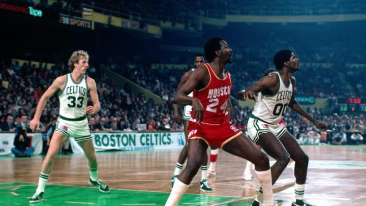 Moses Malone #24 of the Houston Rockets (Photo by Dick Raphael/NBAE via Getty Images)