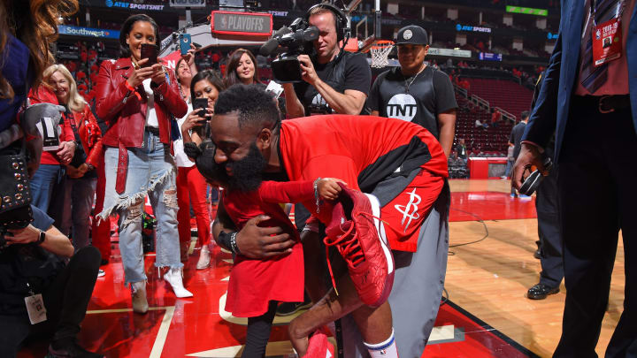 Houston Rockets James Harden (Photo by Bill Baptist/NBAE via Getty Images)