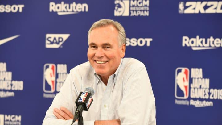 Houston Rockets Mike D'Antoni (Photo by Garrett W. Ellwood/NBAE via Getty Images)