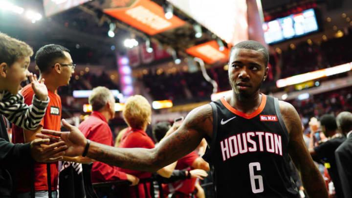 Gary Clark #6 of the Houston Rockets (Photo by Cato Cataldo/NBAE via Getty Images)