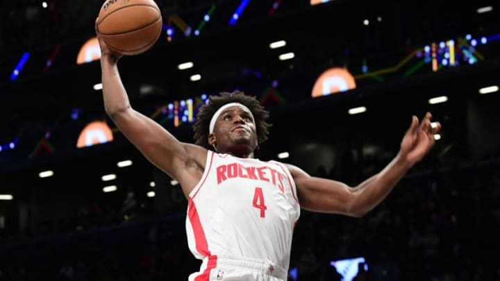 Danuel House Jr. #4 of the Houston Rockets (Photo by Steven Ryan/Getty Images)