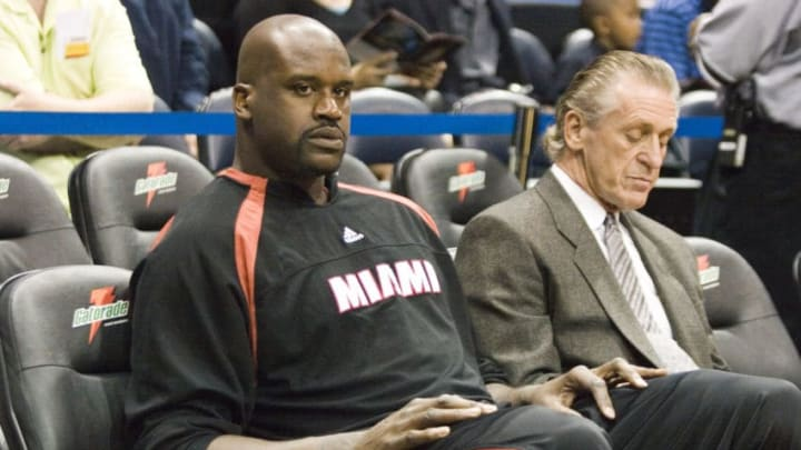 Miami Heat Shaquille O'Neal (Photo by Darrell Walker /Icon SMI/Icon Sport Media via Getty Images)