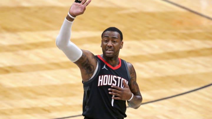 John Wall, Houston Rockets. Mandatory Credit: Chuck Cook-USA TODAY Sports