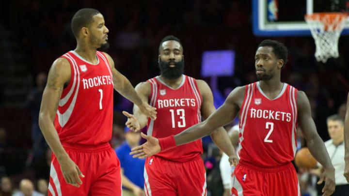 Jan 27, 2017; Philadelphia, PA, USA; Houston Rockets forward