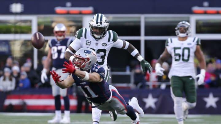 New York Jets Julian Edelman (Photo by Jim Rogash/Getty Images)