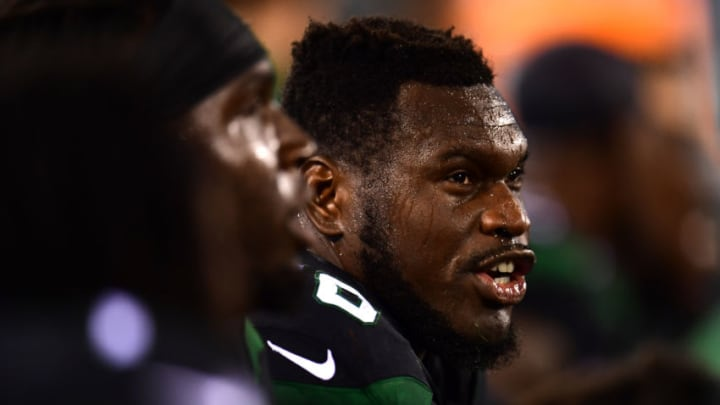 New York Jets Kelechi Osemele (Photo by Emilee Chinn/Getty Images)