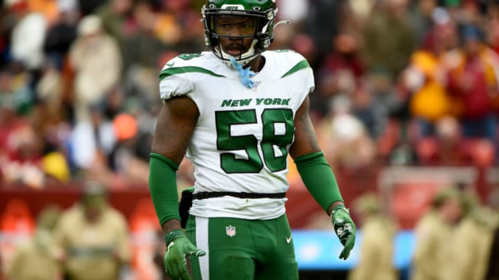 NY Jets, James Burgess (Photo by Will Newton/Getty Images)