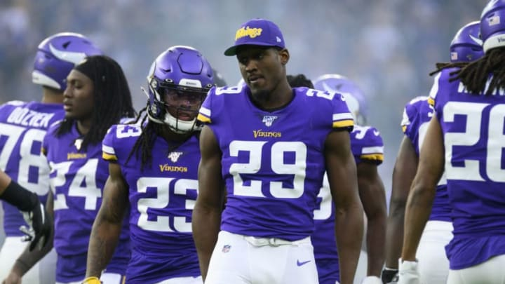 NY Jets, Xavier Rhodes (Photo by Stephen Maturen/Getty Images)