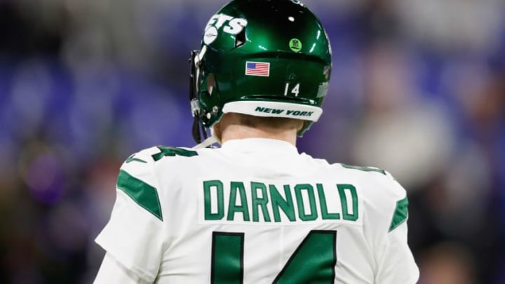 NY Jets, Sam Darnold (Photo by Scott Taetsch/Getty Images)