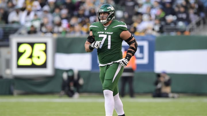 NY Jets, Alex Lewis (Photo by Steven Ryan/Getty Images)