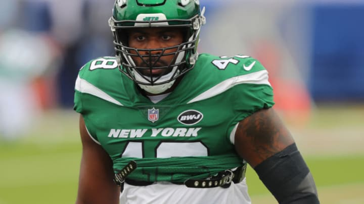 NY Jets, Jordan Jenkins (Photo by Timothy T Ludwig/Getty Images)