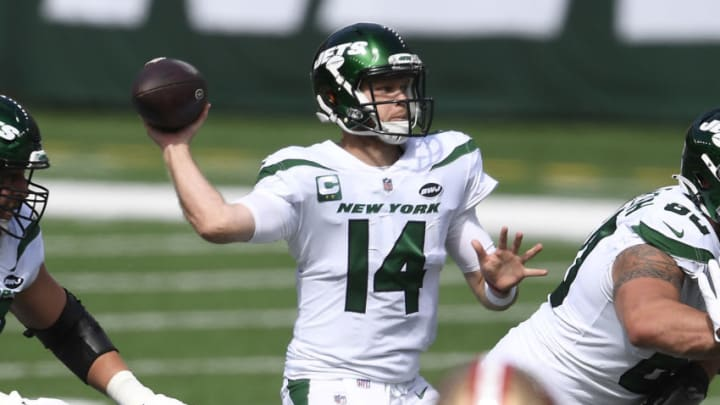 NY Jets, Sam Darnold (Photo by Sarah Stier/Getty Images)