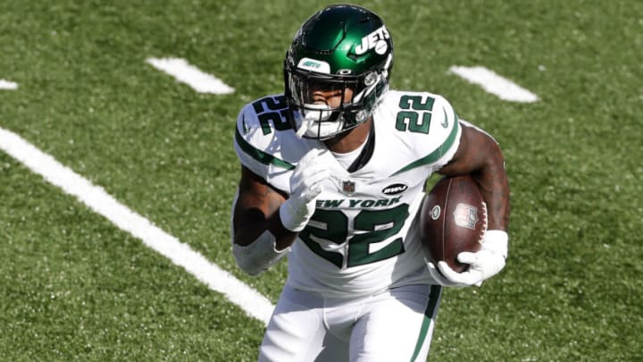 NY Jets, La'Mical Perine (Photo by Jim McIsaac/Getty Images)