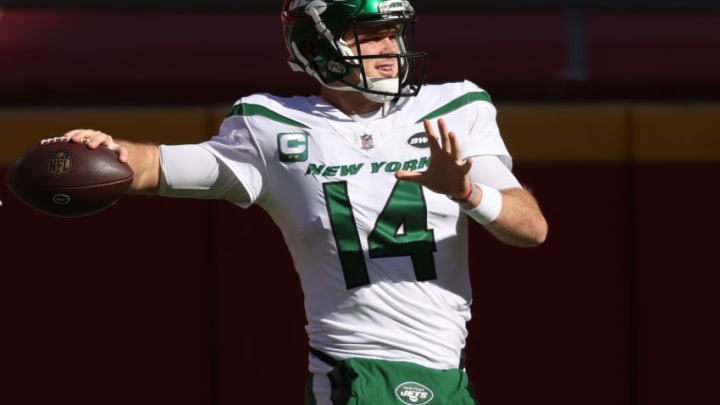 NY Jets, Sam Darnold (Photo by Jamie Squire/Getty Images)