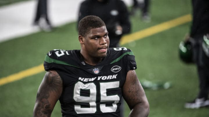 NY Jets, Quinnen Williams (Photo by Benjamin Solomon/Getty Images)